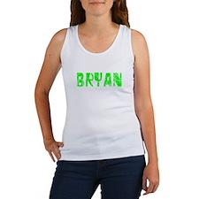 Bryan Faded (Green) Women's Tank Top