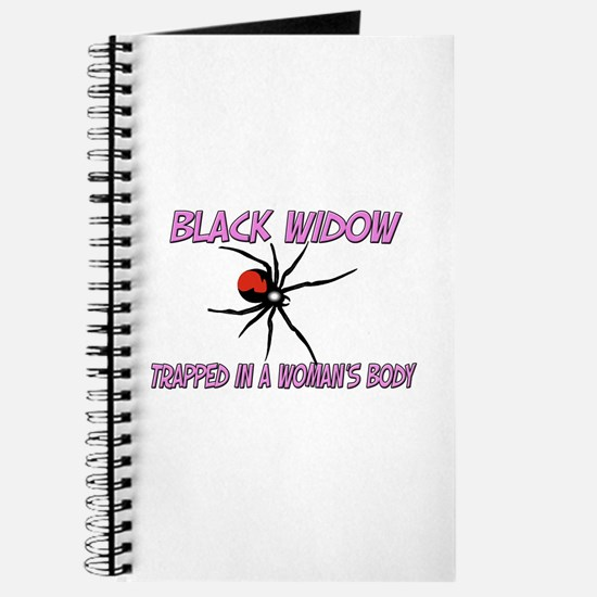 Black Widow Trapped In A Woman's Body Journal