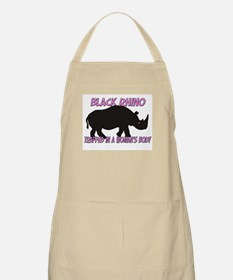 Black Rhino Trapped In A Woman's Body BBQ Apron