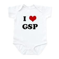 I Love GSP Infant Bodysuit