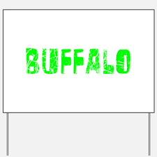 Buffalo Faded (Green) Yard Sign