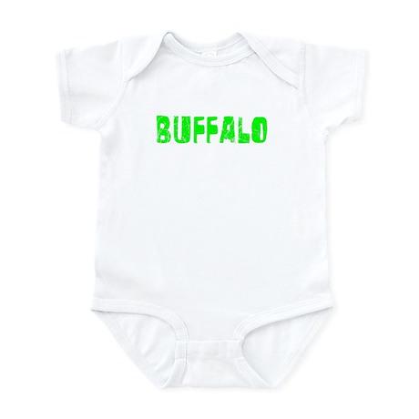 Buffalo Faded (Green) Infant Bodysuit