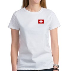 Swiss Flag Tee