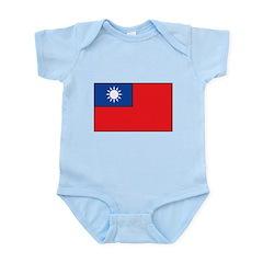 Taiwanese Flag Infant Bodysuit