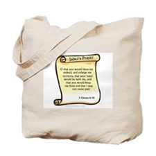 Prayer of jabez Tote Bag