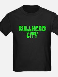 Bullhead City Faded (Green) T