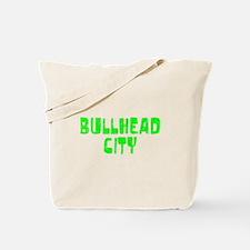 Bullhead City Faded (Green) Tote Bag