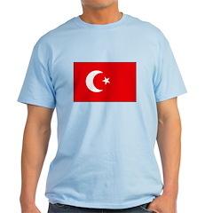 Turkish Flag Light T-Shirt