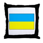 Ukranian Flag Throw Pillow