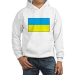 Ukranian Flag Hooded Sweatshirt