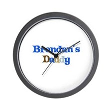 Brendan's Daddy Wall Clock
