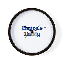 Bryce's Daddy Wall Clock
