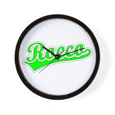 Retro Rocco (Green) Wall Clock