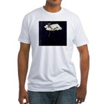 Baby Floats on your Fitted T-Shirt