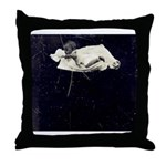 Baby Floats on your Throw Pillow