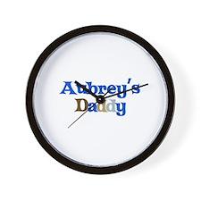 Aubrey's Daddy Wall Clock