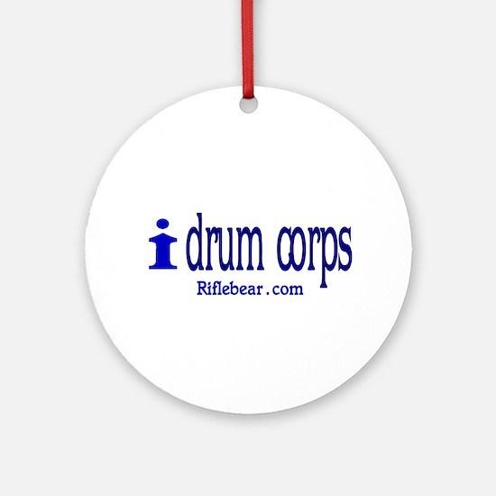 i drum corps Ornament (Round)