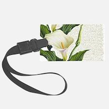 Beautiful Calla Lilies Luggage Tag
