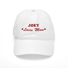 JOEY loves mom Baseball Cap