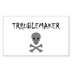 TROUBLEMAKER Rectangle Sticker 10 pk)