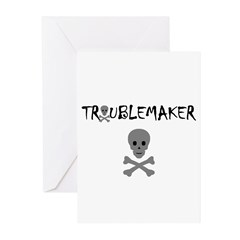 TROUBLEMAKER Greeting Cards (Pk of 10)
