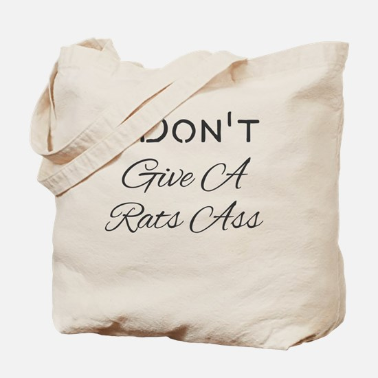 Cool Rats ass Tote Bag