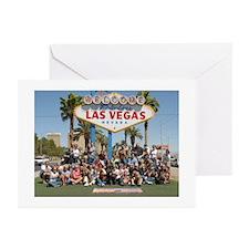 Vegas Weim Sign Greeting Cards (Pk of 10)