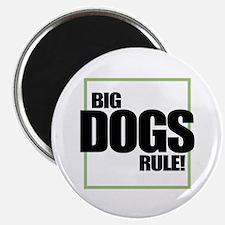 Big Dogs Rule logo Magnet