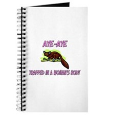 Aye-Aye Trapped In A Woman's Body Journal