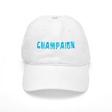Champaign Faded (Blue) Baseball Cap