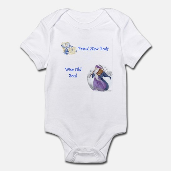 New Body, Old Soul Infant Bodysuit