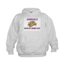 Armadillo Trapped In A Woman's Body Hoodie
