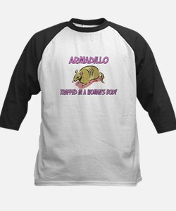 Armadillo Trapped In A Woman's Body Tee
