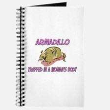 Armadillo Trapped In A Woman's Body Journal