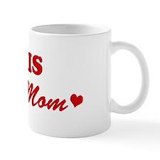 CHRIS loves mom Mug
