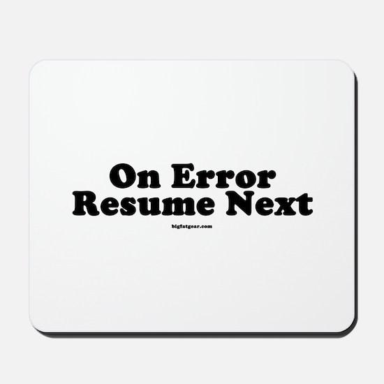 stunning on error resume next in vb net images simple resume