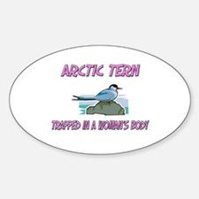 Arctic Tern Trapped In A Woman's Body Decal