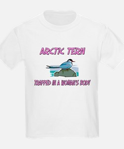 Arctic Tern Trapped In A Woman's Body T-Shirt