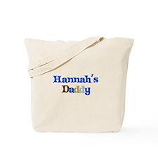 Hannah's Daddy Tote Bag