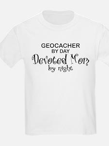 Geocacher Devoted Mom T-Shirt
