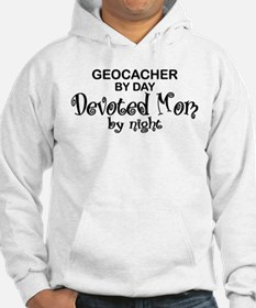 Geocacher Devoted Mom Hoodie