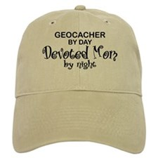 Geocacher Devoted Mom Baseball Cap