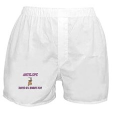 Antelope Trapped In A Woman's Body Boxer Shorts