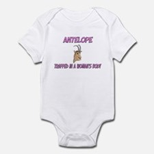 Antelope Trapped In A Woman's Body Infant Bodysuit