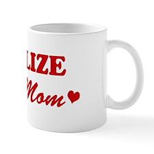CHARLIZE loves mom Mug