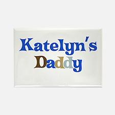 Katelyn's Daddy Rectangle Magnet