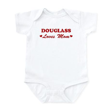 DOUGLASS loves mom Infant Bodysuit