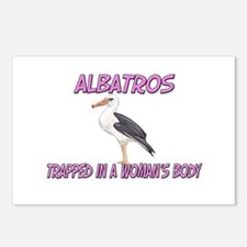 Albatros Trapped In A Woman's Body Postcards (Pack