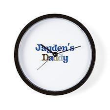 Jayden's Daddy Wall Clock