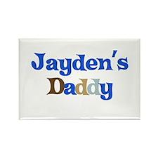 Jayden's Daddy Rectangle Magnet